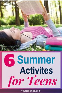 Are you looking for fun summer activities for boys and girls? Here's 6 cheap and… Are you looking for fun summer activities for boys and girls? Here's 6 cheap and free summer activities teenagers can do at home with their friends. Raising Teenagers, Parenting Teenagers, Parenting Classes, Parenting Memes, Parenting Books, Parenting Advice, Gentle Parenting, Summer Activities For Teens, Children Activities