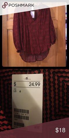 Blouse Soft blouse! Never worn! H&M Tops Blouses