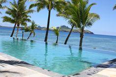 Tokoriki Island Resort, Horizon Pool ~ Fiji Horizon Pools, Island Resort, Fiji, Landscape Design, Outdoor Decor, Landscape Designs