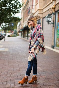 What I Wore- Blanket Scarf + a Shop Update (via Bloglovin.com )