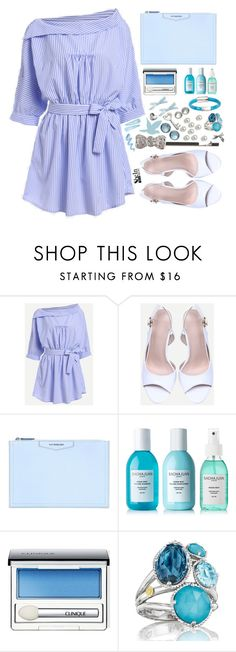 """""""Shein"""" by simona-altobelli ❤ liked on Polyvore featuring Givenchy, Sachajuan, Clinique, Tacori and Michael Kors"""