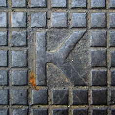 K by Eva the Weaver, via Flickr