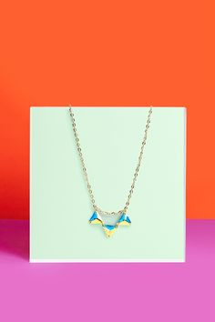Hologram Crystal Necklace
