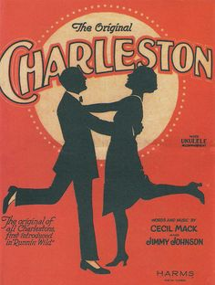 Type of Source: Poster Date of Origin: 1923 The Charleston dance was a very popular dance in the It was well known during the Jazz Age. The Jazz Age encouraged people to dance and have fun. Sheet Music Art, Song Sheet, Vintage Sheet Music, Vintage Sheets, Vintage Dance, Piano Sheet, Poster Art, Art Deco Posters, Dance Posters
