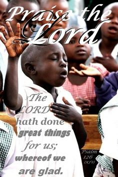 PRAISE THE LORD !!