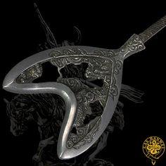 Japanese Samurai XH2227 -- Tiger Dragon Japanese Arrow Head