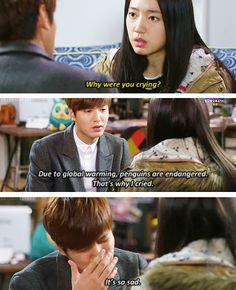 "Lee Min Ho and Park Shin Hye ♡ #Kdrama - ""HEIRS"" / ""THE INHERITORS"" // LOL"