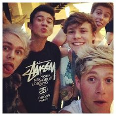 Niall with 5 SOS