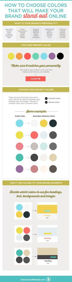 How to Choose Colors That Will Make Your Brand Stand Out Do you love creating mood boards and collecting colors, but then find yourself a bit stumped with how to apply them to your brand? It includes tips for entrepreneurs and biz o Personal Branding, Marca Personal, Branding Your Business, Business Tips, Startup Branding, Business Quotes, Marketing Website, Marketing Services, Affiliate Marketing