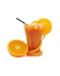 Make It:Juice 1 peeled orange; 2 kale, chard, or collard leaves; 1 apple; 1 organic lemon, with skin; 1 organic lime, with skin. Stir in ½ tsp ascorbic acid (Vitamin C powder) and ¼ tsp. Celtic sea salt. (Note: Serves two.)