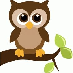 Silhouette Design Store - View Design cute owl on a tree branch with leaves Branch Drawing, Owl Clip Art, Owl Card, Silhouette Online Store, Owl Cartoon, Owl Crafts, Trendy Tree, Silhouette Design, Owl Silhouette