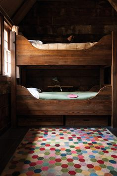 BUNK BEDS - amazing  Blanket by @Suzanne, with a Z, with a Z Sharp for The Rug Company