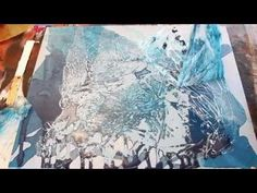 Poured Acrylic Painting Ice Ice Baby. Link download: http://www.getlinkyoutube.com/watch?v=UYf5YjZzOqY