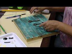 Mulher.com - 25/09/2015 - Porta chaves love - Cleo Squarizi PT2 - YouTube