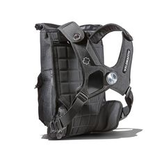 A high speed, watertight, versatile pack that carries your load close to your center of gravity and distributes the weight off of your shoulders allowing for a more aggressive riding style. This bag w Motorcycle Camping, Camping Gear, Outdoor Camping, Mochila Edc, Oakley, Motorcycle Backpacks, Everyday Carry Items, Top Backpacks, Luggage Brands