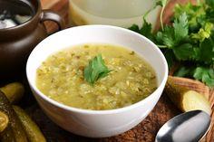 Polish Dill Pickle Soup Recipe