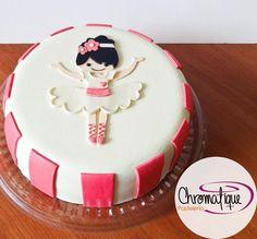 Ballet cake (Torta de ballet) https://www.facebook.com/ChromatiquePasteleria