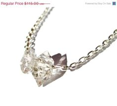 CLEARANCE 40 OFF READY to Ship 12 Carat Herkimer by tsojewelry, $69.00