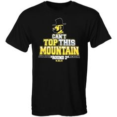 Appalachian State Mountaineers This Mountain T-Shirt – Black