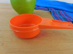 Orange Tupperware Measuring Cup... 1/3 Cup Replacement