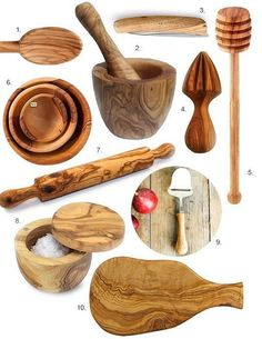 wooden kitchen accessories - Google Search