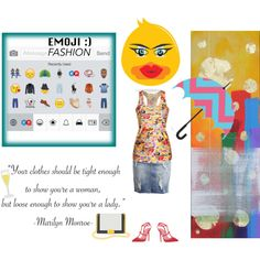 emoji emoji emoji by diaparsons on Polyvore featuring Object Collectors Item and Robert and Michelle Casarietti