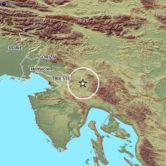06/01/2013 10:05:42  Scossa di terremoto nella vicina Slovenia, magnitudo 3,2