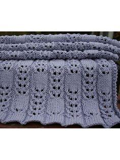 Knitting - Patterns for Children & Babies - Blanket Patterns - Single Color Patterns - Cuddle Baby Blanket Baby Knitting Patterns, Knitting Stitches, Baby Patterns, Stitch Patterns, Crochet Patterns, Blanket Patterns, Color Patterns, Knitted Afghans, Knitted Baby Blankets