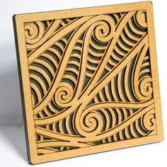 Rima Tile Art set of five Wall mounted or free standing Kowhaiwhai feature tiles with related stories on the back, presented in stylish window envelopes. Abstract Sculpture, Sculpture Art, Bronze Sculpture, Maori Patterns, Polynesian Art, Maori Designs, Nz Art, Wood Carving Designs, Feature Tiles