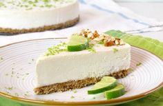 Cheesecake de Lima e Natas