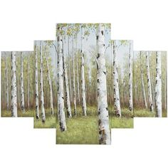 Birch Trees Collage Art Set | Pier 1 Imports
