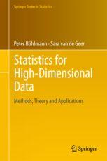 Statistics for high-dimensional data : methods, theory and applications / Peter Bühlmann, Sara van de Geer. (2011). Máis información: http://www.springer.com/statistics/statistical+theory+and+methods/book/978-3-642-20191-2