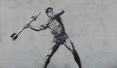 London Officials To Erase Banksy's Latest 'Olympic' Street Art | Holtermann Design LLC