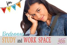 This is the third in a 5-part series for girls 7-17. Bedroom Study & Work Space For Kids.
