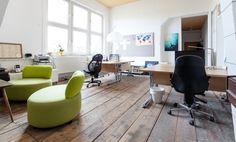 Arbeitsplätze in ehemaligem Kunstatelier direkt am Englischen Garten #Büro, #Bürogemeinschaft, #Office, #Coworking, #München, #Munich