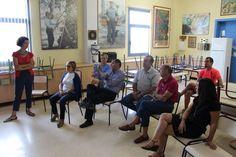 Miembros del Museo Escolar de Pusol se reúnen para la explicación del proyecto de la Universidad de Coimbra http://www.museopusol.com/es/noticias/?cat=6&id=96&dat=10%202014