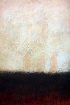 Paintings by Federico Infante │ {Shadows of the future ... }