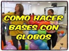 bases con globos