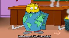 Hahaha don't know why I find this so funny - oh Ralphie Simpsons Simpsons, Simpsons Quotes, The Simpsons Tv Show, Ralph Wiggum, Santa's Little Helper, Funny Bunnies, Homer Simpson, Futurama, The Funny