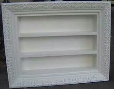 Silverware drawer and picture frame