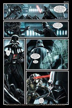 Alien vs Predator vs Star Wars.  Get out.