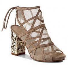 Sandały SOLO FEMME - 15203-01-G08/G12-07-00 Taupe/Beż Furla, Clarks, Gladiator Sandals, Taupe, Tommy Hilfiger, Wedges, Shoes, Fashion, Woman