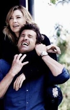 ellen pompeo and patrick dempsey kissing Greys Anatomy Derek, Greys Anatomy Cast, Greys Anatomy Characters, Greys Anatomy Couples, Grey Anatomy Quotes, Grey Quotes, Derek Shepherd, Sullivan Patrick Dempsey, Meredith And Derek