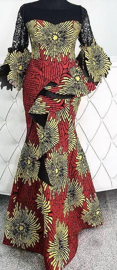 Ankara Short Gown, Ankara Gowns, Short Gowns, African Attire, African Dress, Fabulous Dresses, Pretty Dresses, African Tops, African Fashion Ankara
