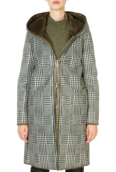 This is the 'Ova' Green Checkered and Brown Faux Fur Reversible Coat by our friends at Rino & Pelle! SHOP NOW! Ova, Winter Coats Women, Suits You, Daily Fashion, Faux Fur, Shop Now, Daily Style, Suede Jacket, Brown