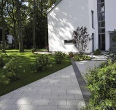 Modern beton kerti burkolat - Inout-Home