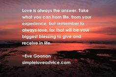 #love #give #receive