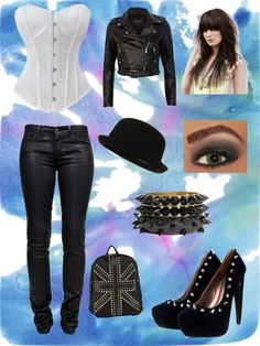 """Rocker Chic"" by eprox ❤ liked on Polyvore"