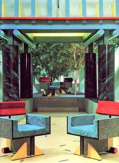 Interior Of Terry Farrells TVAM Building 1982