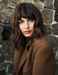 15+ Medium Length Bob with Bangs
